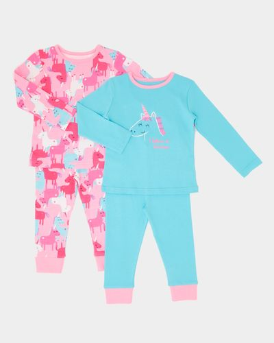 Baby Girls Pyjamas - Pack Of 2