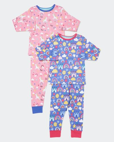 Baby Girls Pyjamas - Pack Of 2 (6 months - 4 years)