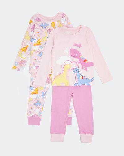 Baby Girls Pyjamas - Pack Of 2 thumbnail