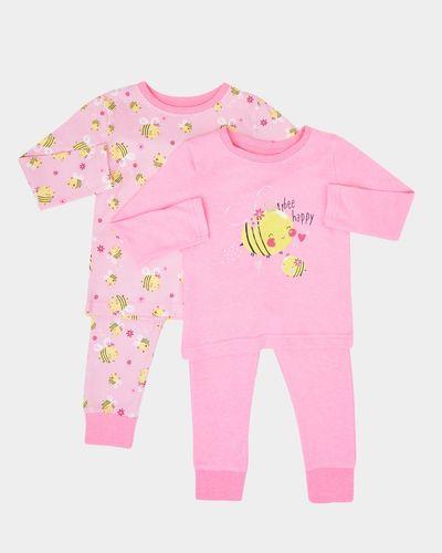Baby Girls Pyjamas - Pack Of 2 (6 months-4 years)