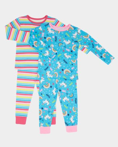 Baby Girls Pyjamas - Pack Of 2 thumbnail