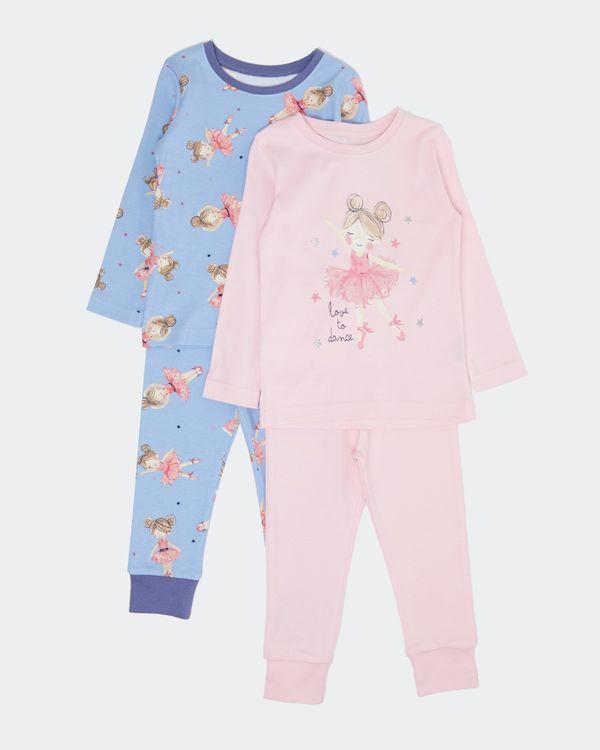 Baby Girls Pyjamas - Pack Of 2