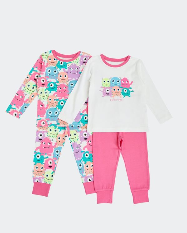 Baby Girls Pyjamas - Pack Of 2 (6 Months - 4 Years)