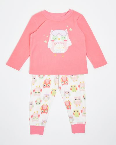 Baby Girls Fleece Pyjamas (6 months-4 years) thumbnail