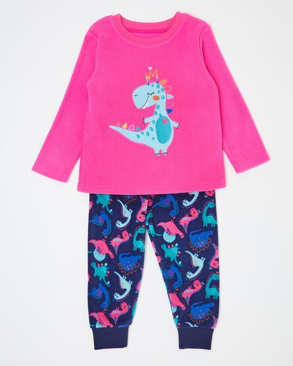 Baby Girls Fleece Pyjamas (6 months-4 years)
