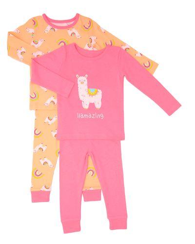 Llama Pyjamas - Pack Of 2