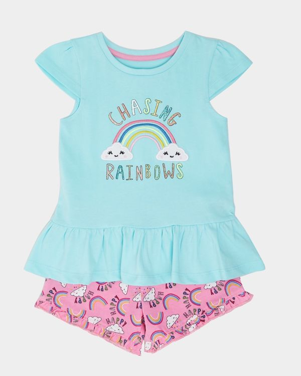 Chasing Rainbows Short Set (6 months-4 years)