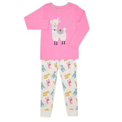 Jersey Pyjamas - Llama