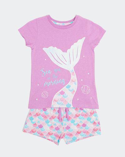 Jersey Pyjama Shorts Set