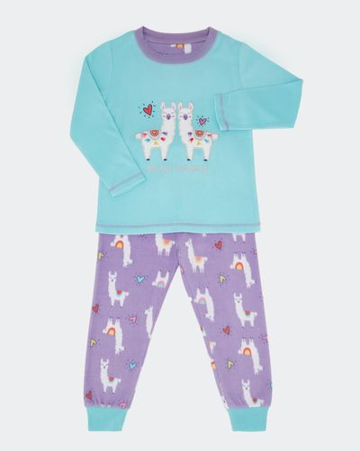 Girls Microfleece Pyjamas (2-14 years) thumbnail