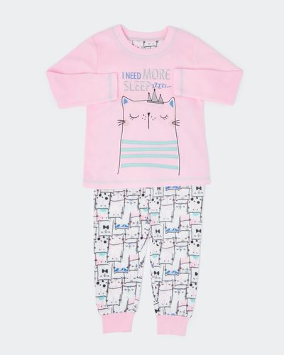Girls Microfleece Pyjamas