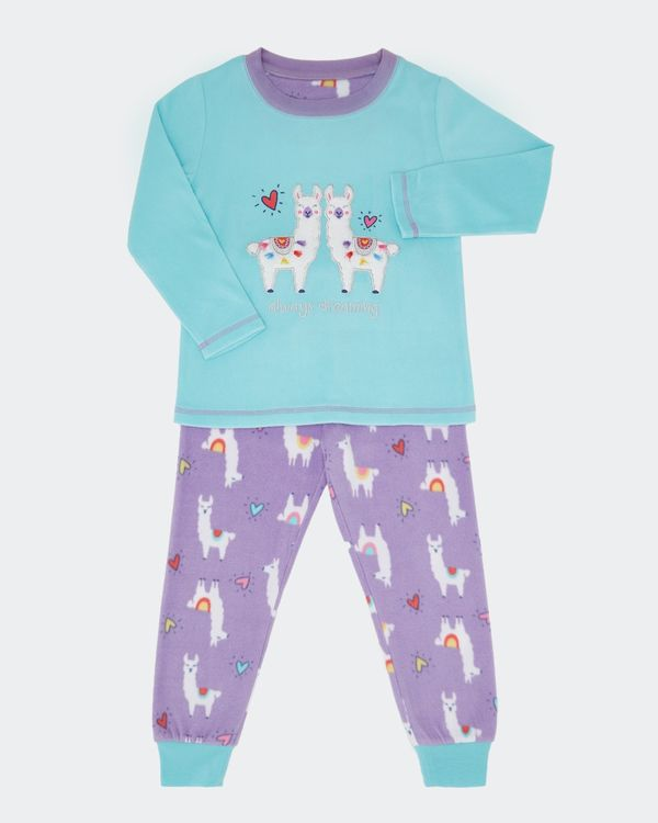 Girls Microfleece Pyjamas (2-14 years)