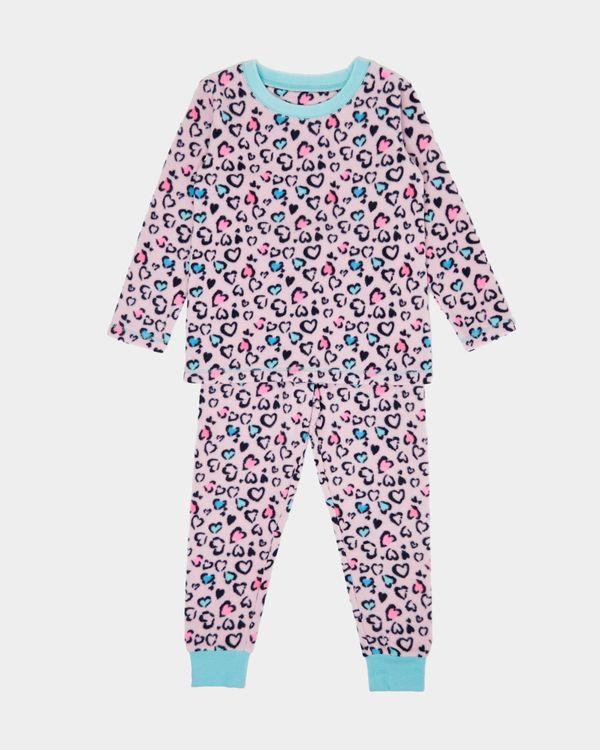 Girls Microfleece Pyjamas (2-14 years)