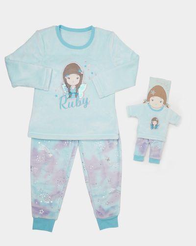 Ruby Fluffy Pyjamas (2-9 years)