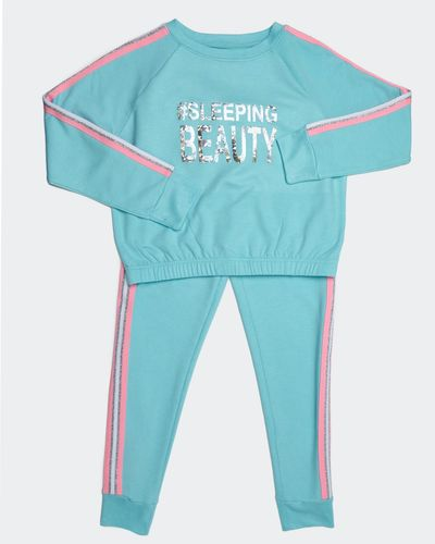 Girls Foil Lounge Set (7-14 years)