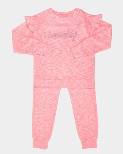 Frill Sleeve Snit Pyjamas (7-14 years) thumbnail