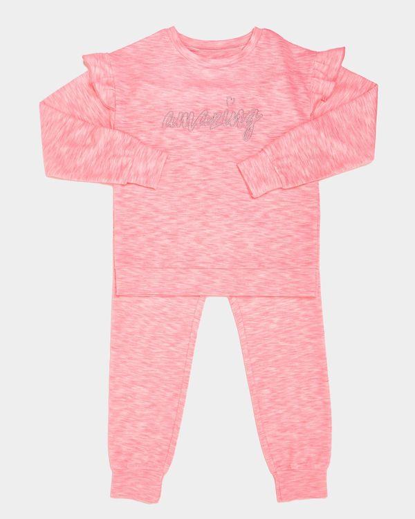 Frill Sleeve Snit Pyjamas (7-14 years)