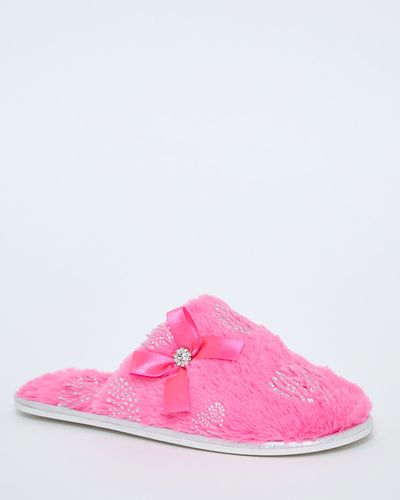 Jewel Mule Slippers
