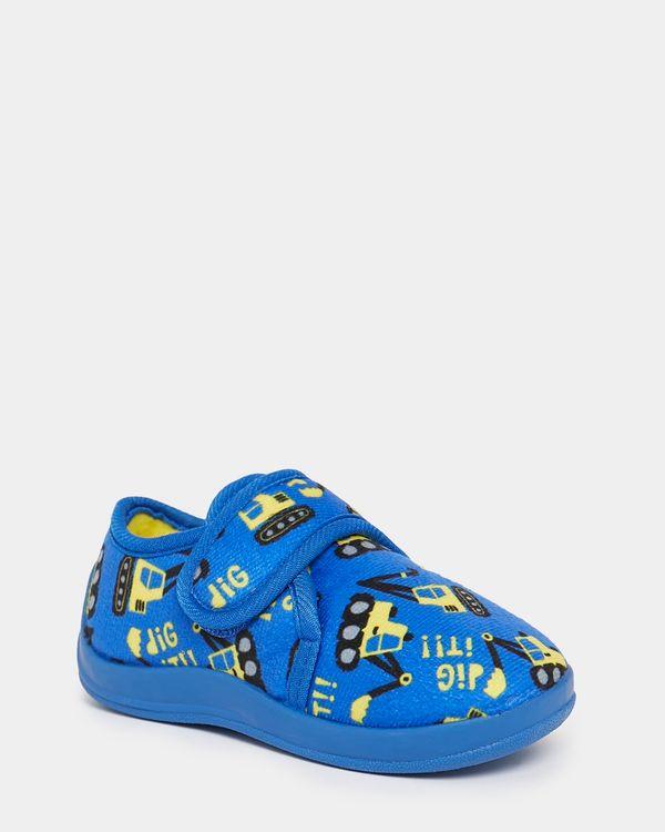 Baby Boys Novelty Slippers (Size 4-8)