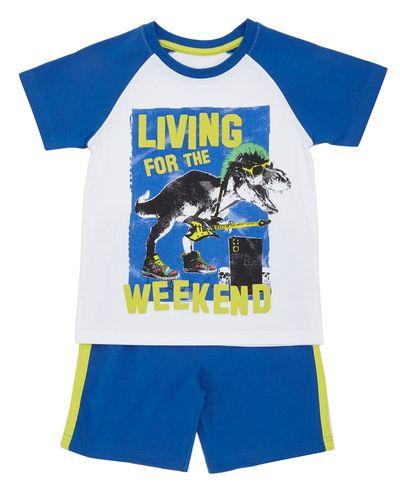 Short Set Pyjamas - Dino