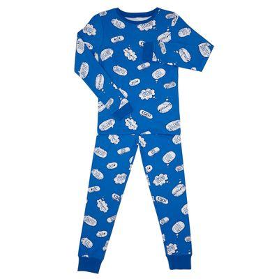 Knit Pyjamas - Speech Bubbles