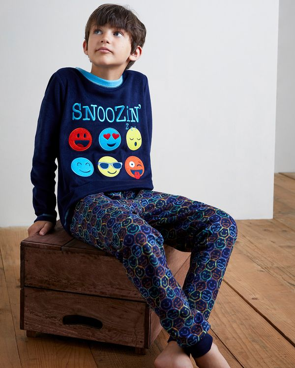 Boys Microfleece Pyjamas (2-14 years)