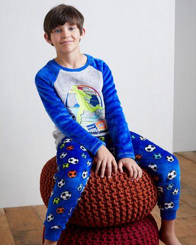 Boys Fluffy Fleece Pyjamas thumbnail
