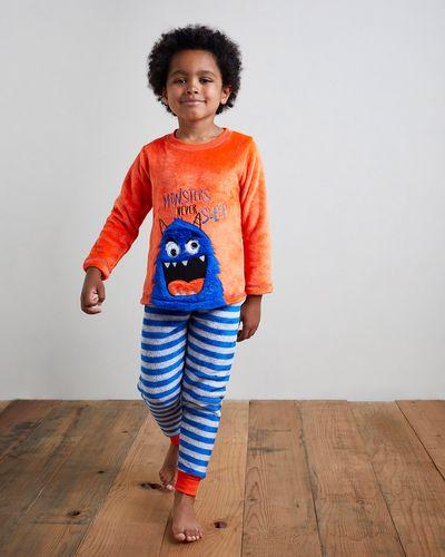 Boys Fluffy Fleece Pyjamas (2-14 years)