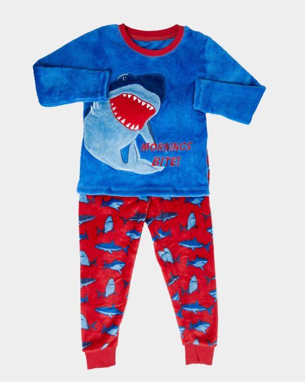 Boys Fluffy Fleece Pyjamas