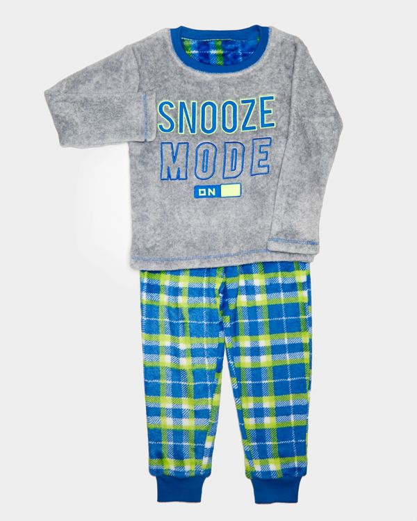 Boys Fluffy Fleece Pyjamas