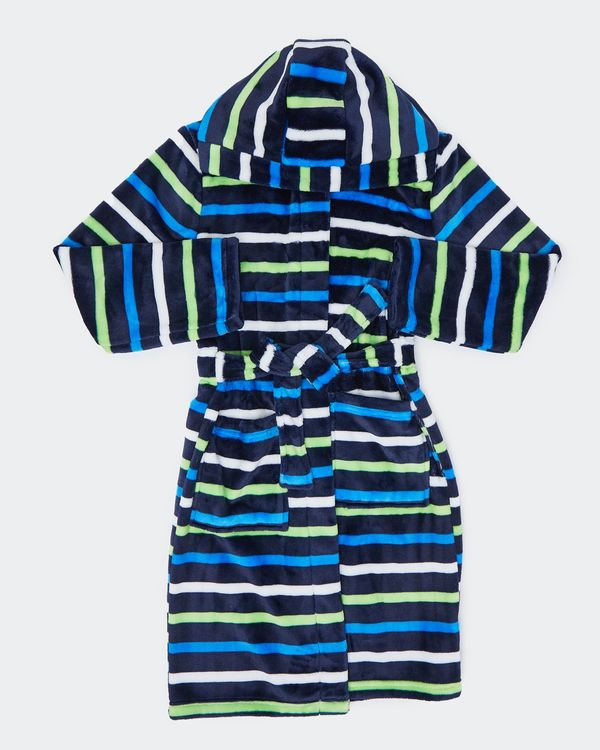 Boys Stripe Robe (12 months-14 years)