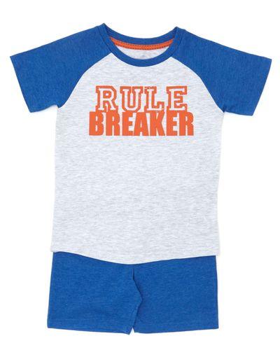 Mini Me Kids Rule Breaker Pyjama Set