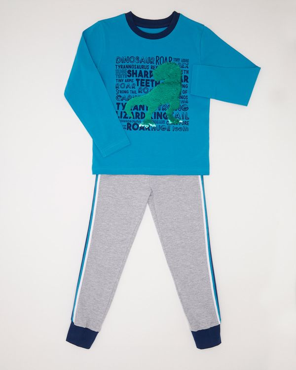 Sequin Dinosaur Pyjama