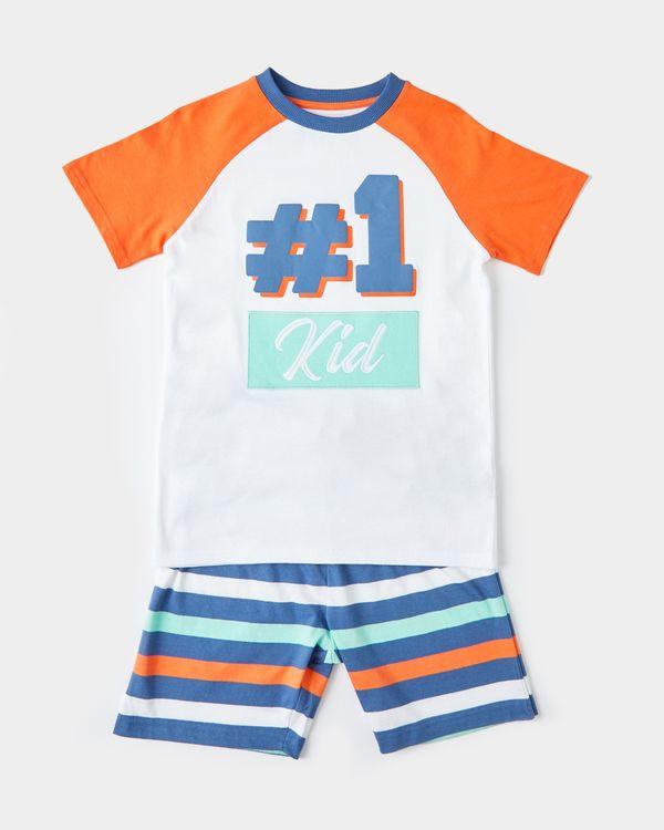 No 1 Kid Short Set Mini Me (6 months-10 years)