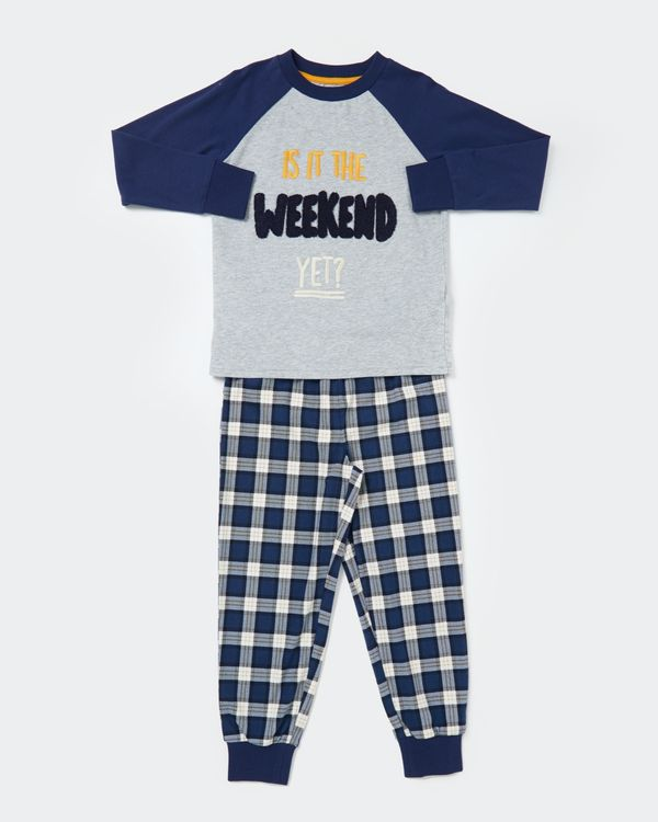 Weekend Slogan Pyjama (2-8 years)