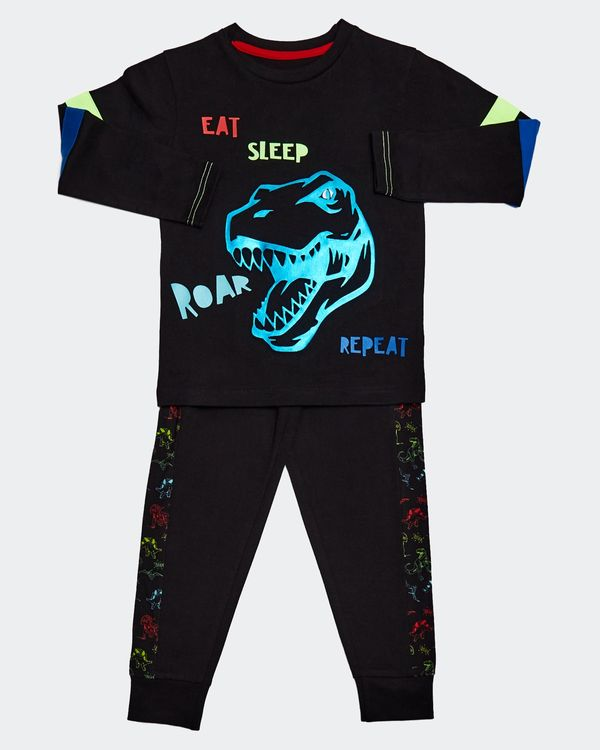 Dino Foil Pyjamas (2-8 years)