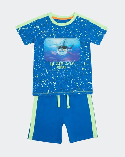 Boys Shark Short Set (2-8 Years)
