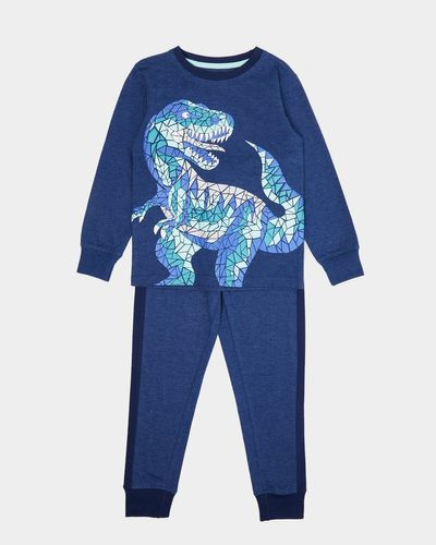 Metallic Dino Pyjamas (2-8 years)