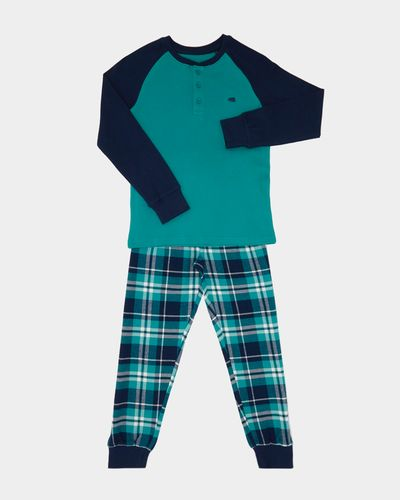 Boys Check Pant Pyjamas