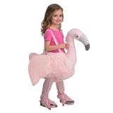 pink Flamingo Walk In Costume