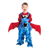 blue Dragon Walk In Costume