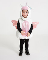 white Unicorn Plush Costume