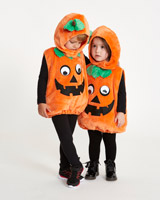 orange Pumpkin Plush Costume