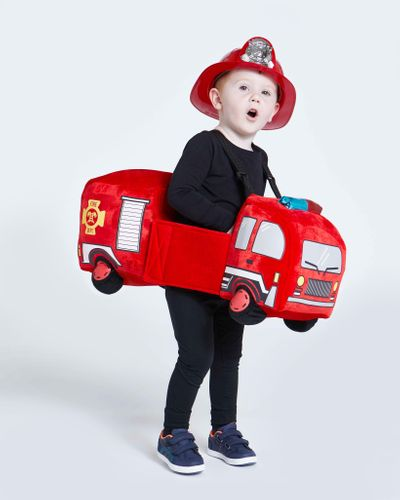 Walk In Fire Engine And Hat