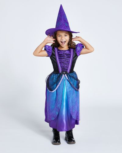 Purple Witch With Hat