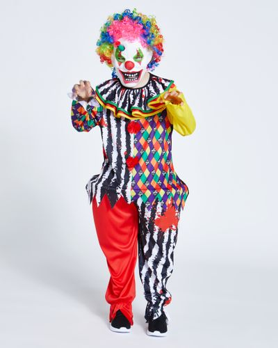 Clown Costume With Wig