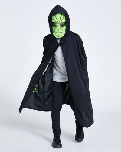 Alien Cape,  Gloves And Mask