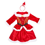 red Mrs Claus Dress Up