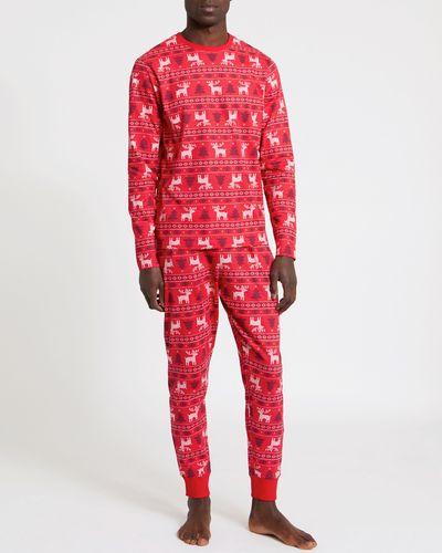 Christmas Family Fairisle Pyjamas