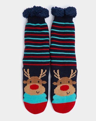 Reindeer Family Socks